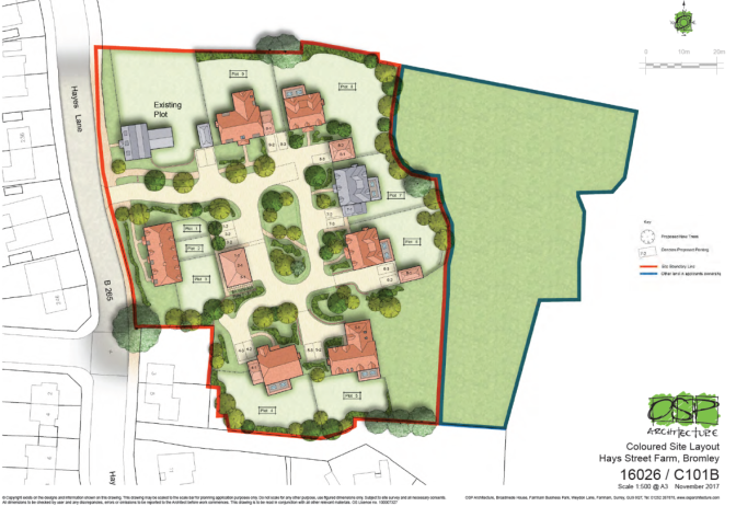 Hayes Farm Development Plans Refused