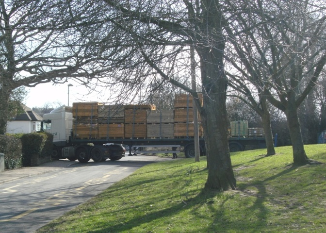 Another Month, Another Stuck HGV